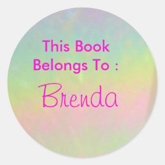Brenda Round Sticker