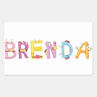 Brenda Sticker