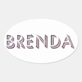 Brenda sticker name
