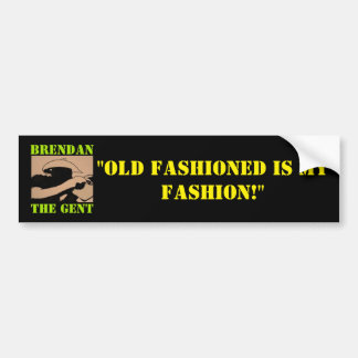 BrendanTheGent Bumper Sticker