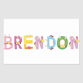 Brendon Sticker