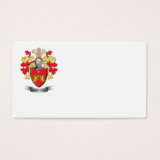 Brennan Coat of Arms Business Card