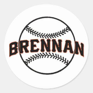 Brennan's Bar Mitzvah Classic Round Sticker