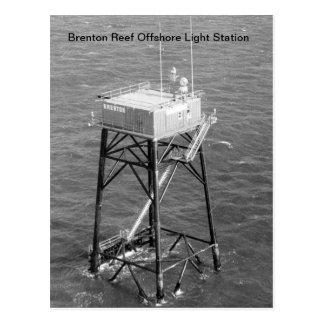 Brenton Reef Offshore Light Station Postcards