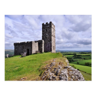 Brentor Church, Dartmoor - Devon Postcard