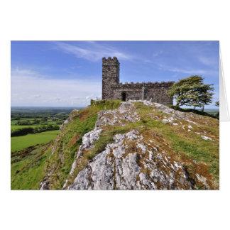 Brentor Church, Dartmoor National Park, Devon Card