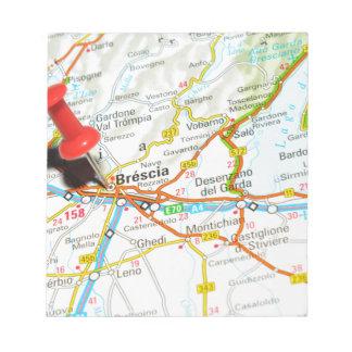 Brescia, Italy Notepad