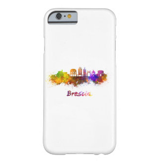 Brescia skyline in watercolor barely there iPhone 6 case