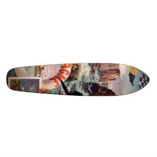 Bretagne - Belle Ile en Mer Bretagne Skate Board Deck
