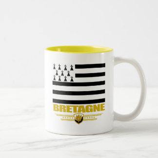Bretagne (Brittany) Two-Tone Coffee Mug