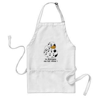 Breton duck standard apron