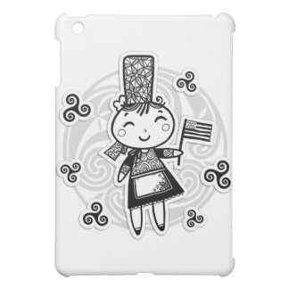 Breton girl iPad mini covers