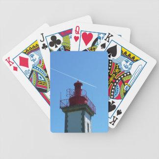 Breton headlight bicycle playing cards