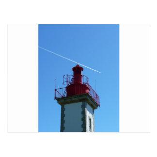 Breton headlight postcard