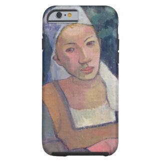 Breton Peasants, 1894 (oil on canvas) Tough iPhone 6 Case