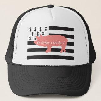 Breton pig trucker hat