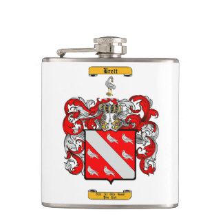 Brett (Irish) Hip Flask