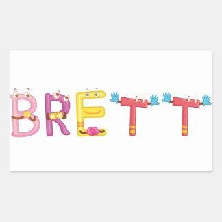 Brett Sticker