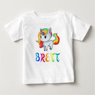 Brett Unicorn Baby T-Shirt