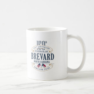 Brevard, North Carolina 150th Anniversary Mug