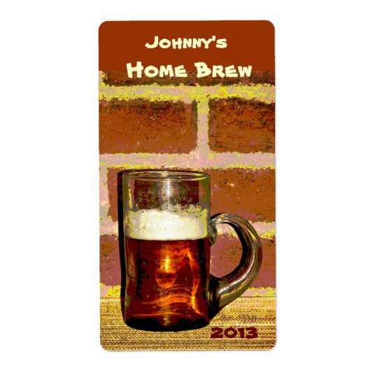 Brew Mug Beer Label
