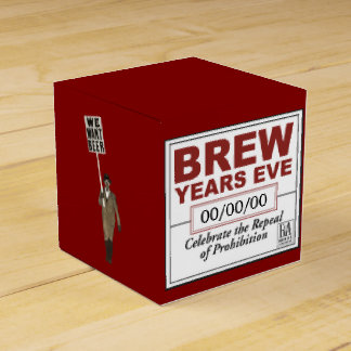 Brew Year's Eve Favor Box