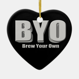 Brew Your Own Beer Ceramic Ornament