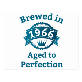 Brewed in 1966 Aged to Perfection Post Cards