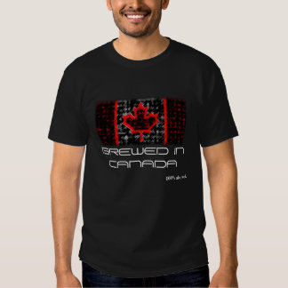 BREWED IN CANADA t-shirt