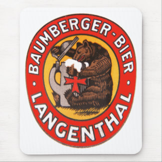 Brewery Baumberger Langenthal mouse PAD