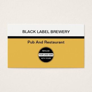 Brewery Business Cards