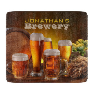 Brewery Cutting Board