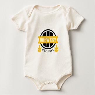 Brewery Logo Design Template Baby Bodysuit