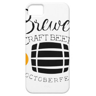 Brewery Logo Design Template With Barrel iPhone 5 Covers