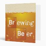 Brewing Beer Vinyl Binder
