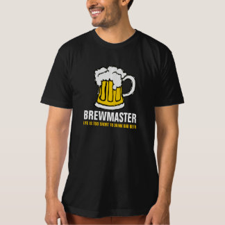 Brewmaster Beer Brewer T-Shirt
