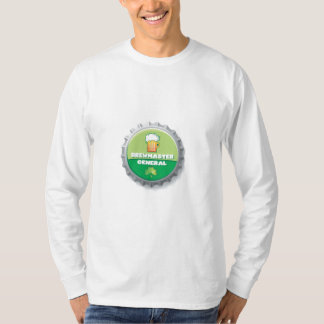 Brewmaster General Bottle Cap T T-Shirt