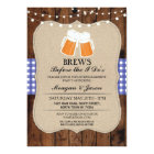 Brews Before The I Do's Couple's Shower Invite