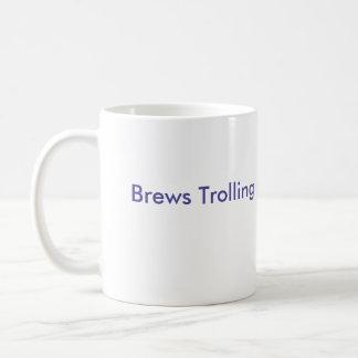 Brews Trolling Troll face Classic White Coffee Mug