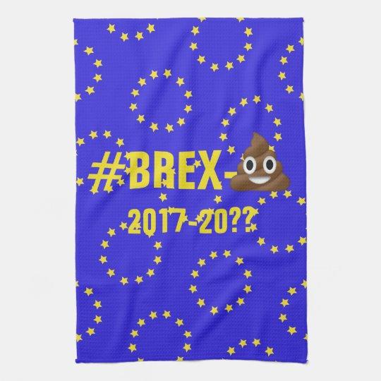 Brex-💩2017-?? EU Flag/Brexit Tea Towel