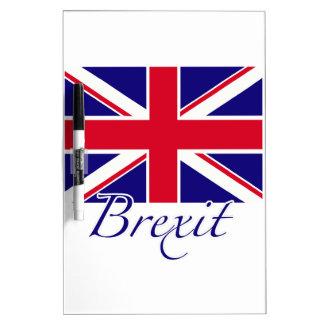 Brexit 1 dry erase white board