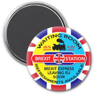 Brexit 3 Inch Round Magnet