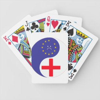 Brexit Bicycle Playing Cards
