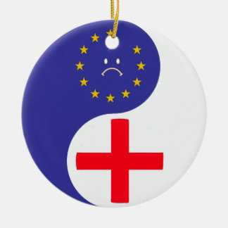 Brexit Ceramic Ornament