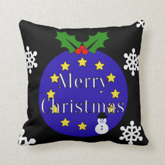 Brexit Christmas Double-Sided Throw Pillow