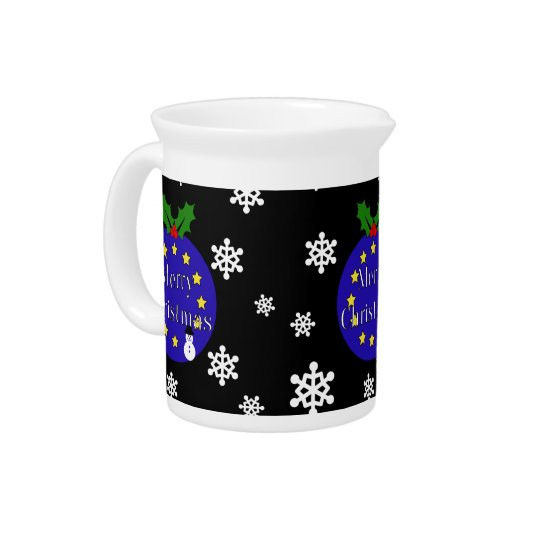 Brexit Christmas Pitcher