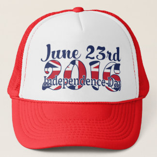 Brexit Great Britain votes to leave EU on June 23 Trucker Hat