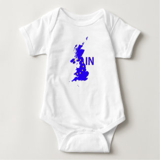 "BREXIT ""IN"" UNION JACK BABY BODYSUIT"
