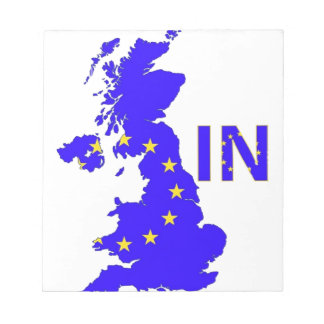 "BREXIT ""IN"" UNION JACK NOTEPAD"