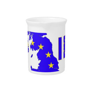 "BREXIT ""IN"" UNION JACK PITCHER"
